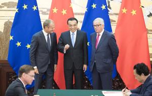 李克強:中歐投資協定談判進入新階段